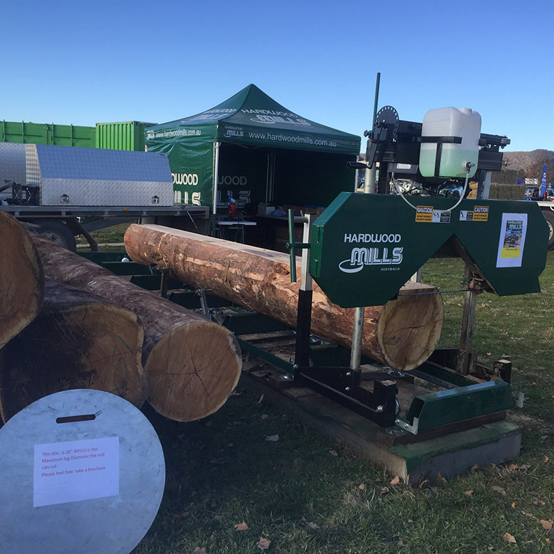 Timber cutting gallery demo