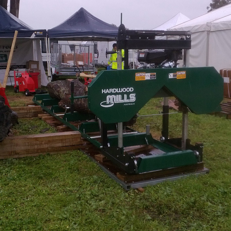 Timber cutting gallery expo