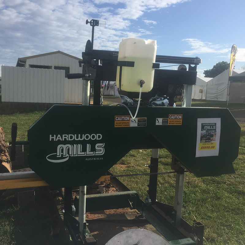Timber cutting gallery machine