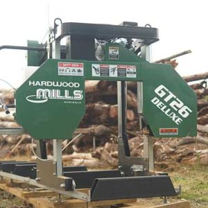 GT26 Deluxe Portable Sawmill - Ground Model