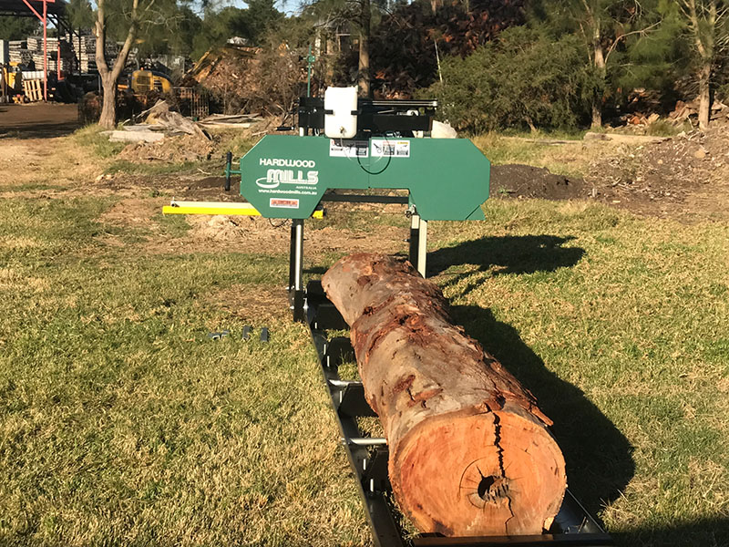 GT 26 Portable Sawmill timber expo