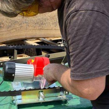 Wood Bandsaw Sharpener