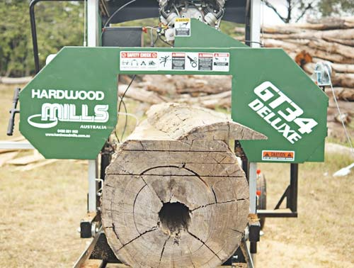 GT34 portable sawmill