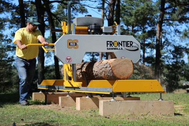 Frontier OS23 Sawmill 10hp