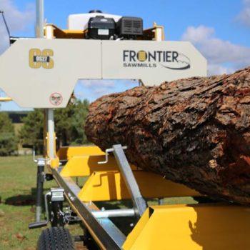 frontier OS27 portable sawmill