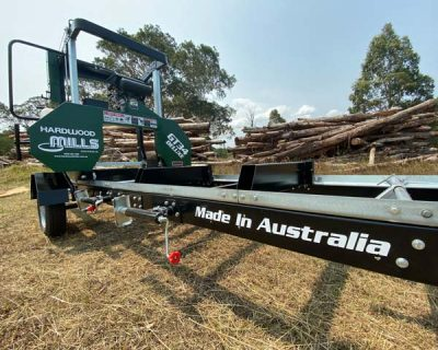 GT34 Portable Deluxe Sawmill - Trailer Model