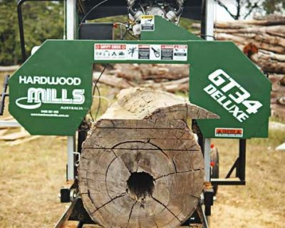 GT34 Portable Deluxe Sawmill - Ground Model