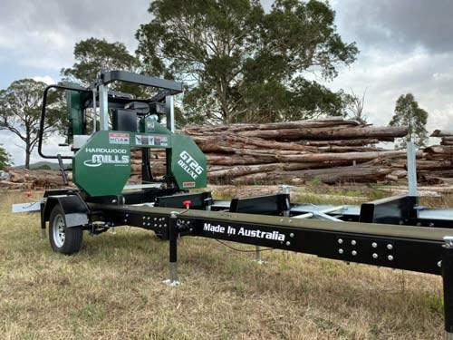 GT26 Deluxe Portable Sawmill - Trailer Model