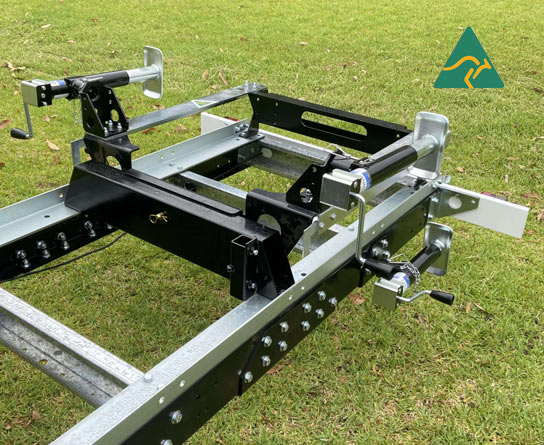 900mm Fold Down Track Extension for GT26