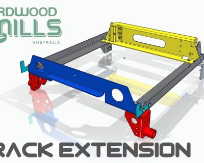 910mm Fold Down Track Extension