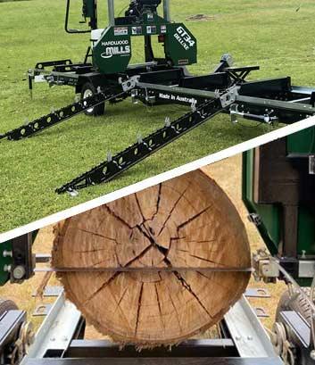 portable band sawmills